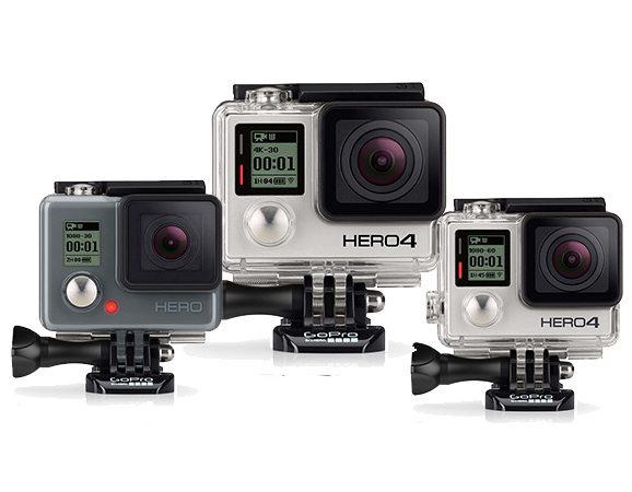GoPro 2014 CameraLineup
