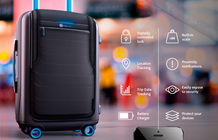 Bluesmart Worlds First Smart Carry On