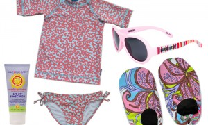 Pretty in Pink – Girls Beach Style