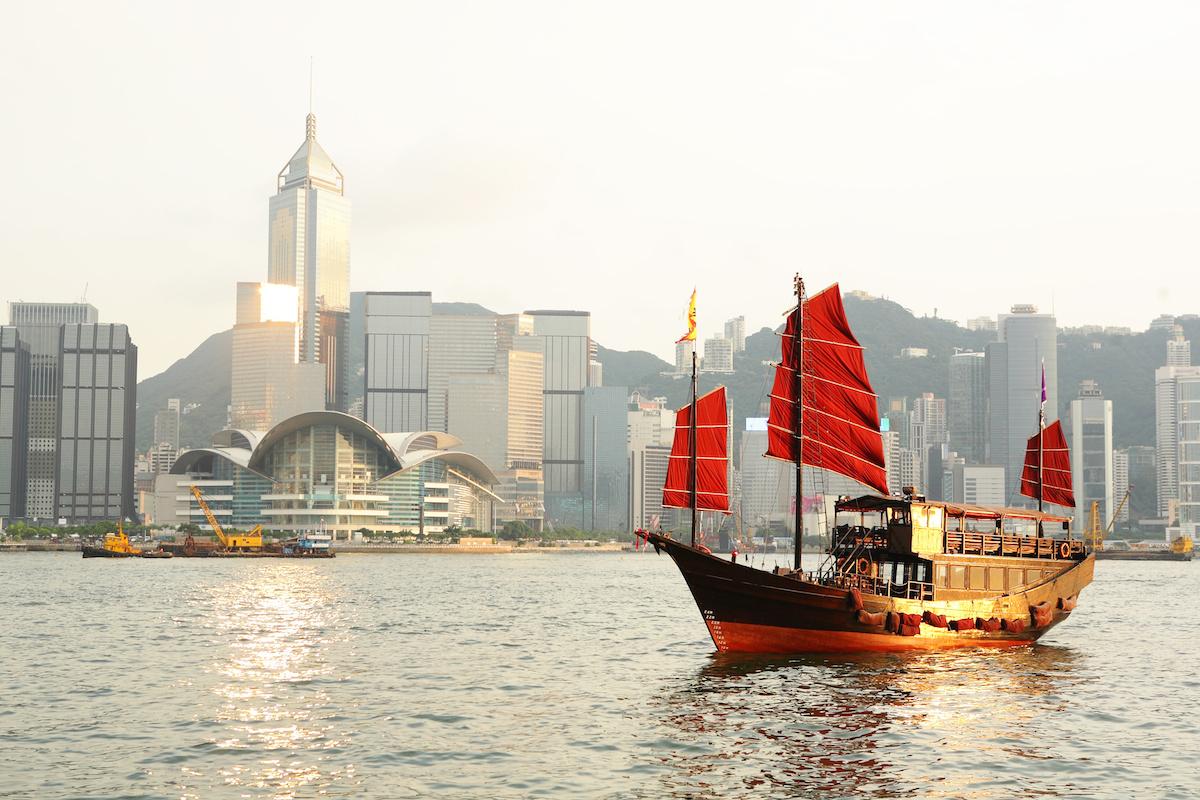 Hong Kong Junk Boat Ride