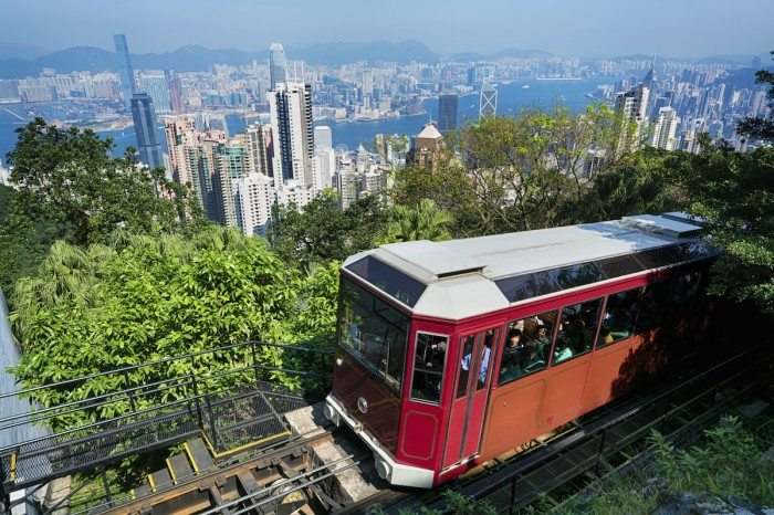 The Peak Tram Ride Hong Kong. Hong Kong Top Experiences