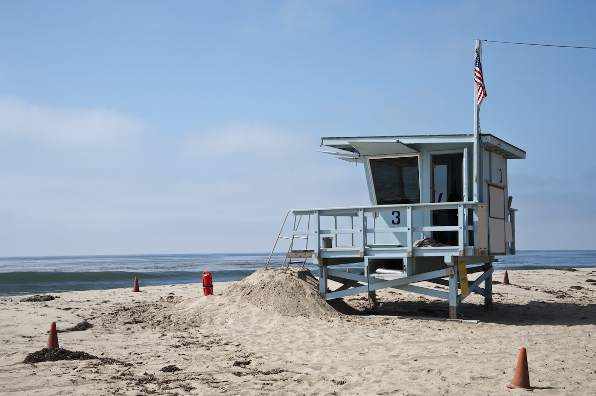spiaggia a Venice beach a Los Angeles, California - America's Top Cities