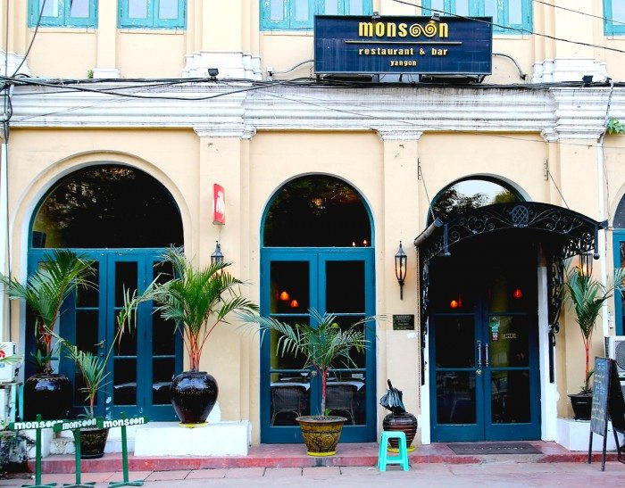 Monsoon Restaurant - What to do in Yangon