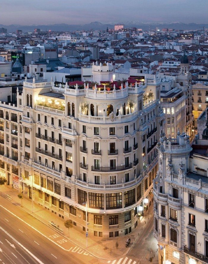 The principal madrid opens for Hotel design madrid
