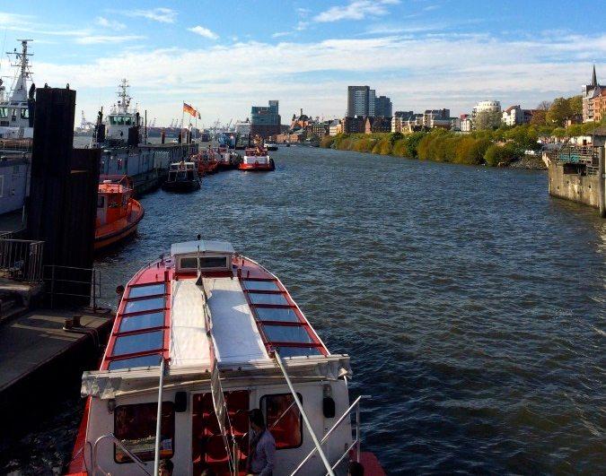Weekend trip to Hamburg Germany exploring by boat