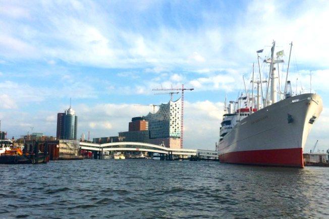 Weekend trip to Hamburg Germany ship yard