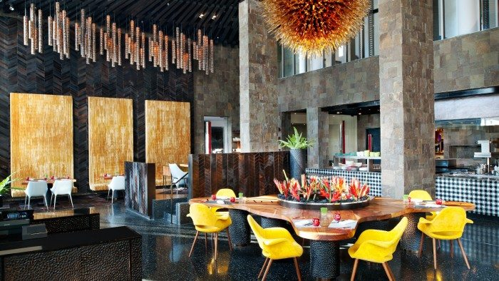 W Retreat and Spa, Bali- Fire Restaurant