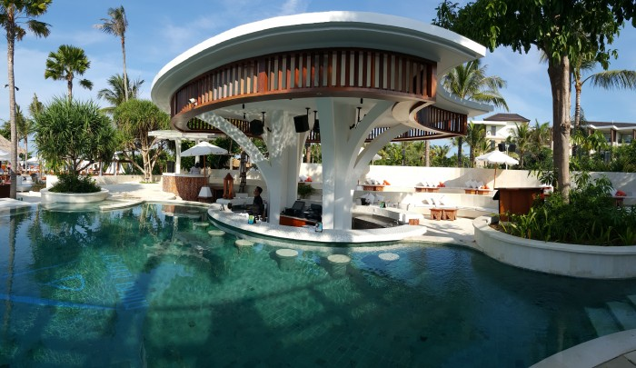 Nikki Beach Bali Pool Swim Up Bar