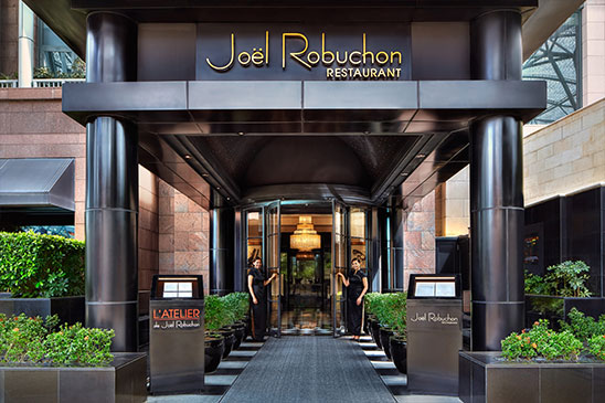 Celebrity Chef Restaurant Singapore - Joel Robuchon