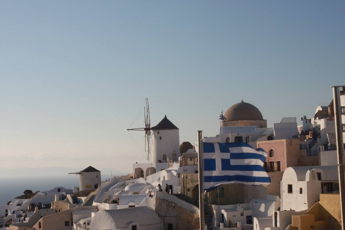 Fall in Love with Santorini- Oia