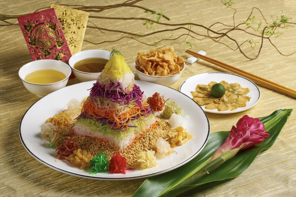 Cassia's Signature Lou Hei for Chinese New Year Dining in Singapore