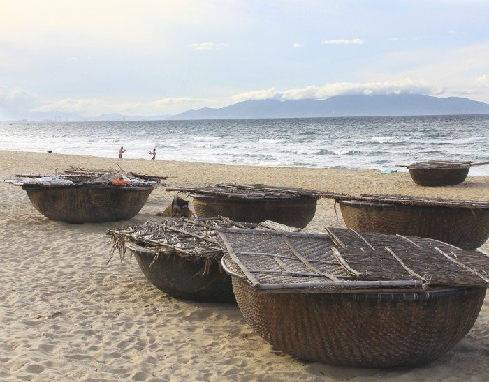 Hoi An Beach Vietnam light