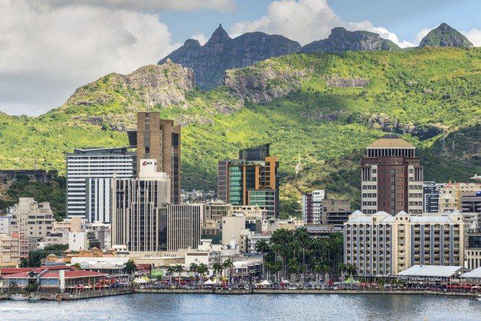 Port Louis cityscape, Mauritius