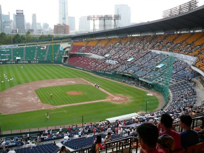 Seoul's Top Sights - Baseball game at Jamsil Stadium