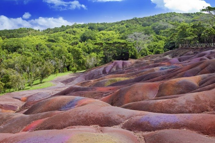 Seven Coloured Earths Mauritius
