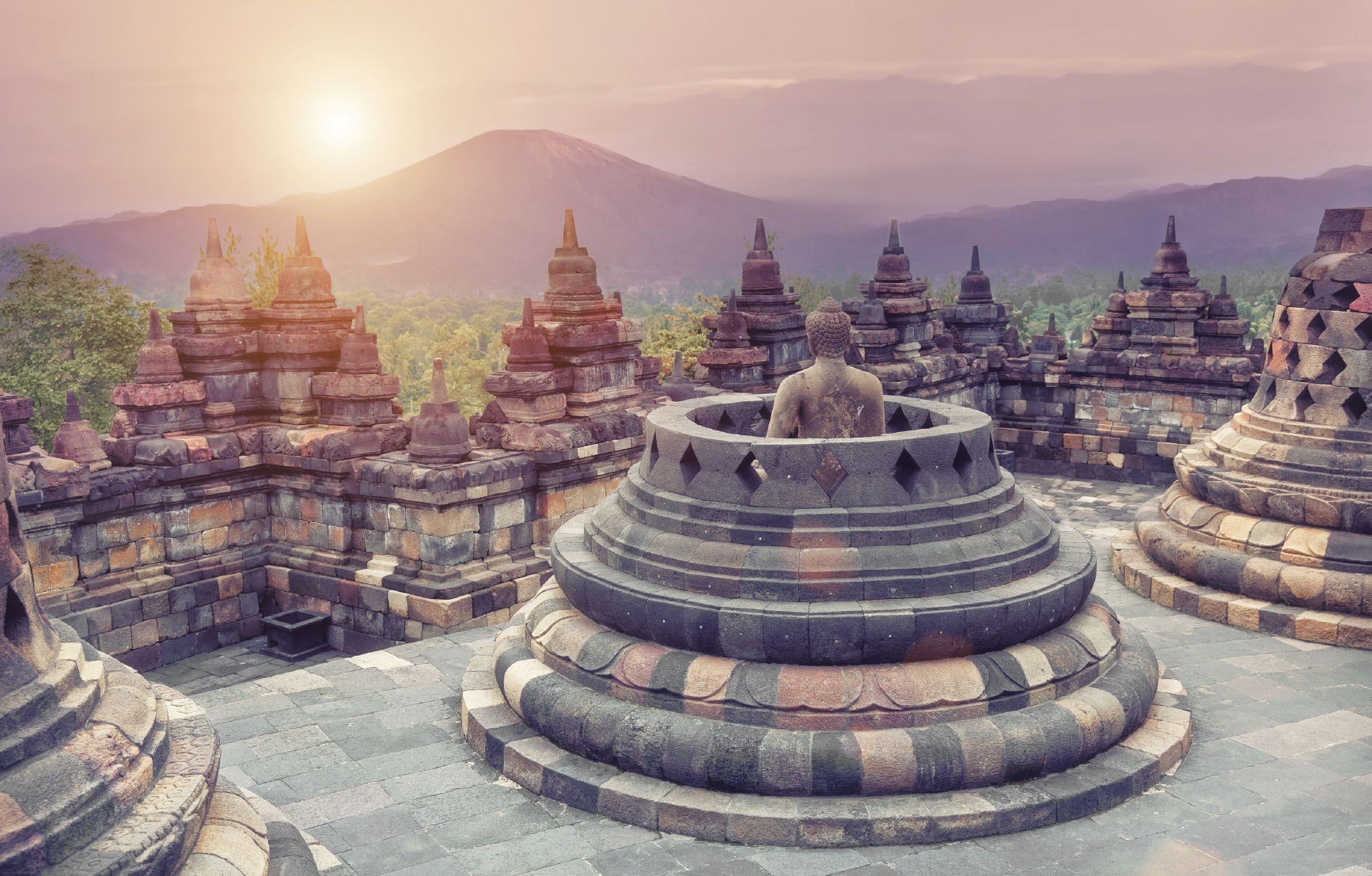 Borobudur Temple- 14 Spectacular Places to Visit in Indonesia