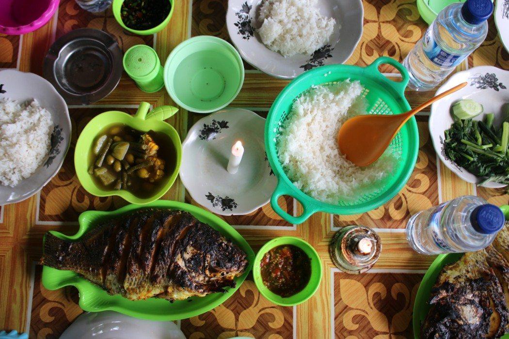 Lake Ranau- Street Food