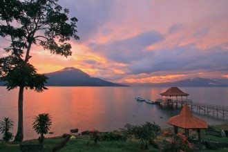 Lake Ranau, South Sumatra