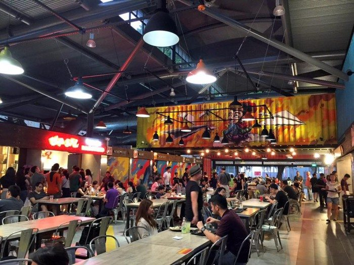 Timbre Plus Food Court Singapore