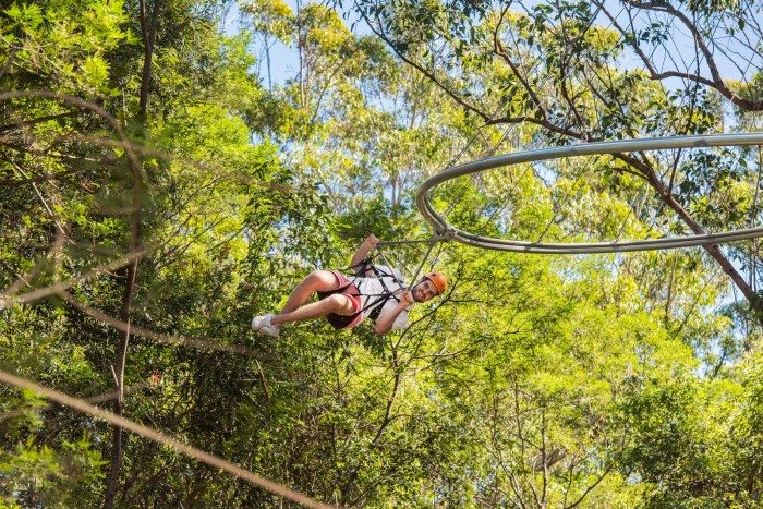 TreeTop Crazy Rider - Top Places to Ziptrek in Asia and Beyond