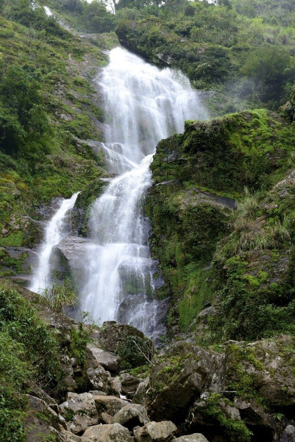 Waterfall in Sapa Vietnam