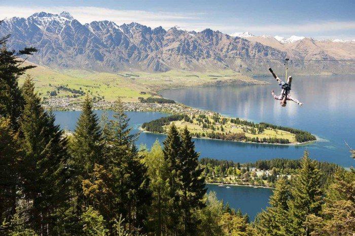 Ziptrek Ecotours Upside down - Top places to Ziptrek in Asia