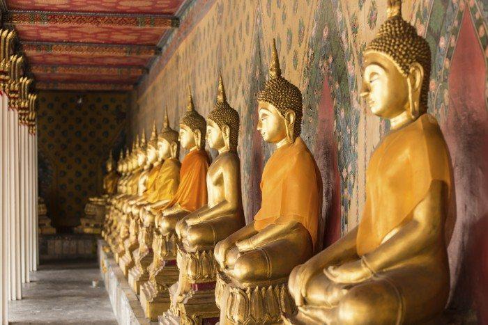 Riverside, Bangkok- Wat Pho
