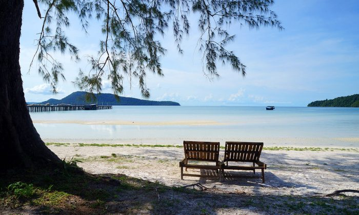 Koh Rong Sanloem Island in Cambodia