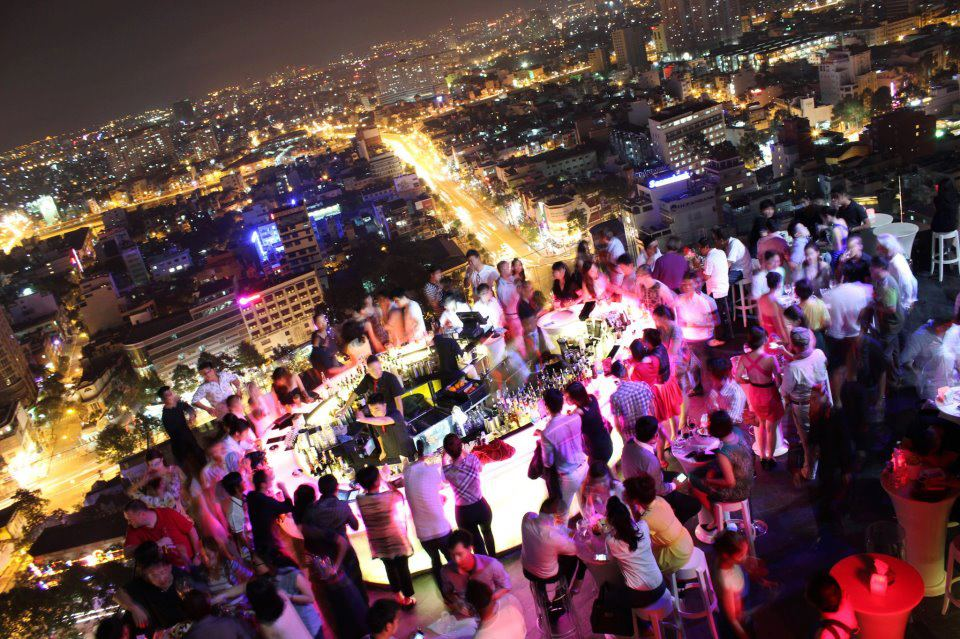 Chill Sky Bar Ho Chi Minh City - Asia's Best Bars