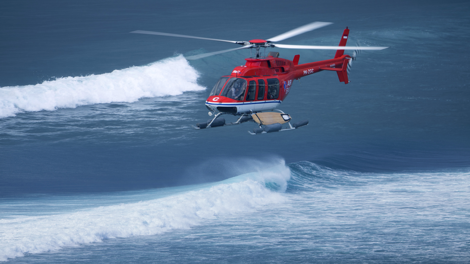 Escape Balis Crowds In Style With Asias First HeliSurfing Tour  Suma  Ex