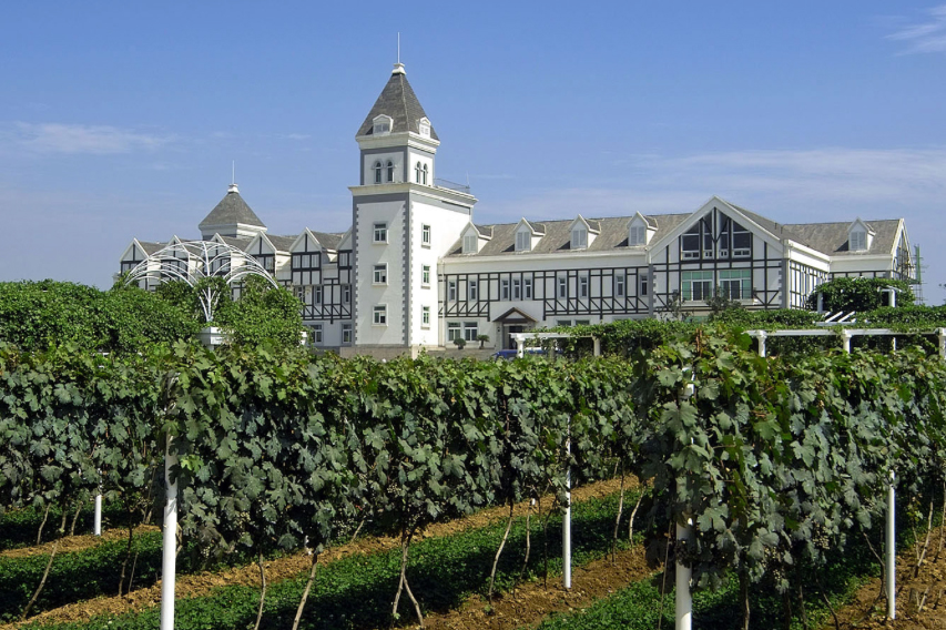 Top wineries in Asia Yantai Chateau Changyu Castel