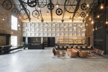The Warehouse Hotel Lobby and Bar