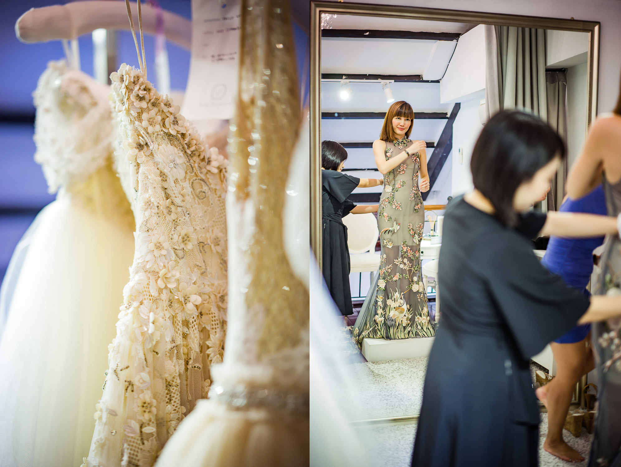 Truly Enamoured Bridal Boutique Club Street Singapore
