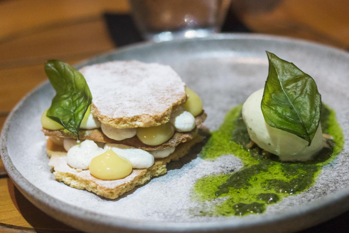Grow Restaurant Bali Basil and Lemon Tart feature