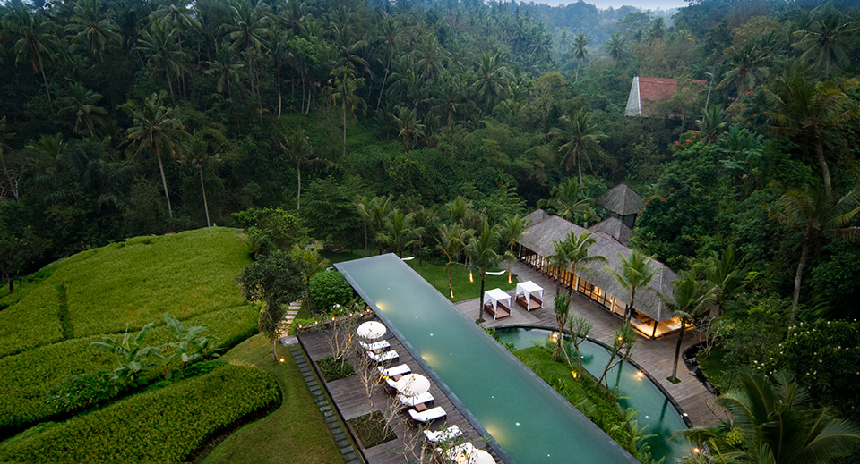 Ubud 39 s best infinity pools 9 alternatives to hanging gardens for Design boutique hotel ubud