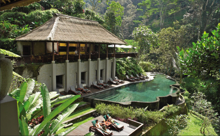Maya Ubud Resort and Spa Infinity Pool
