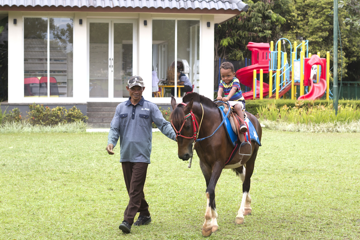 Sheraton Bandung Kids Activities and Horse Riding
