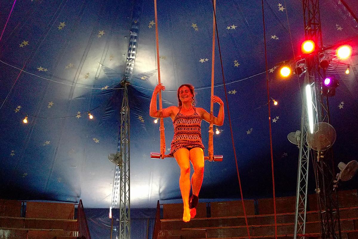 Circus in Yangon Myanmar