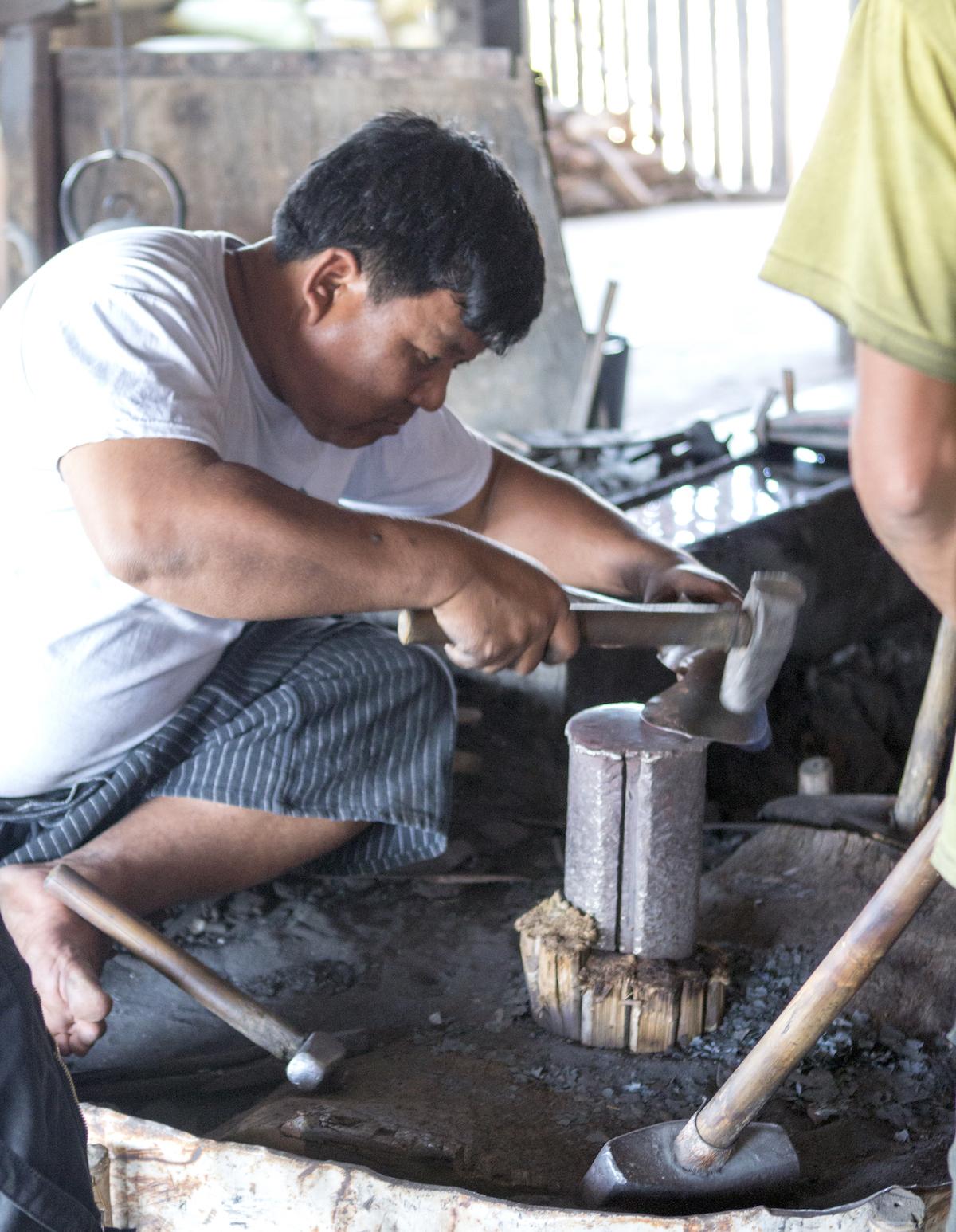 Inle Lake Myanmar Craftsmen