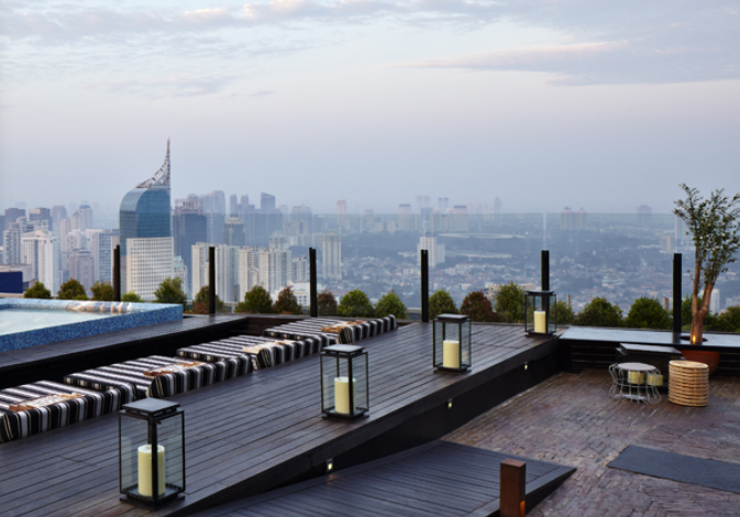 Skye Bar and Restaurant - What to do in Menteng