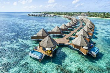 Mercure Maldives Kooddoo overwater villas