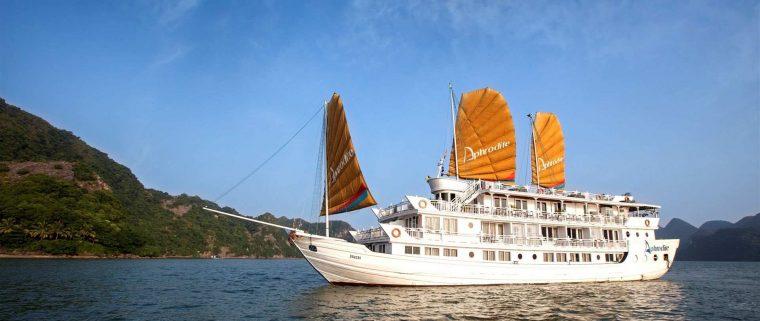 aphrodite cruises halong bay vietnam
