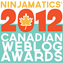 Canadian Weblog Awards Finalist-2012