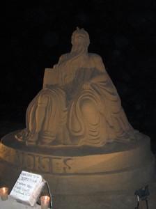 sand sculpture puerto vallarta