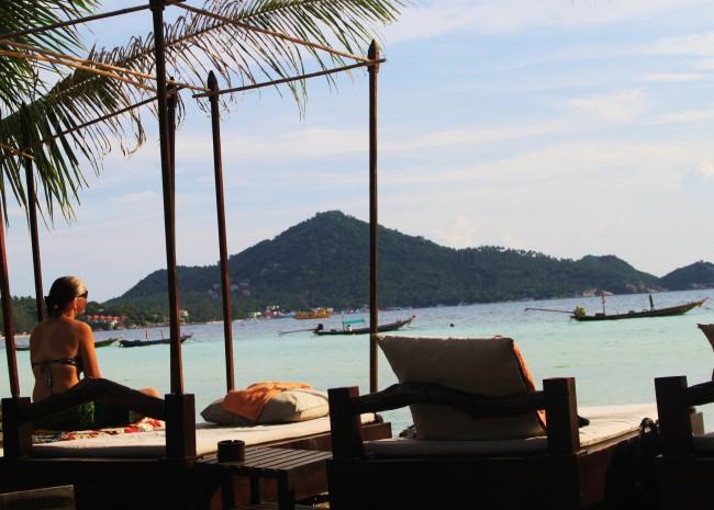 Sai Ri Beach on Koh Tao