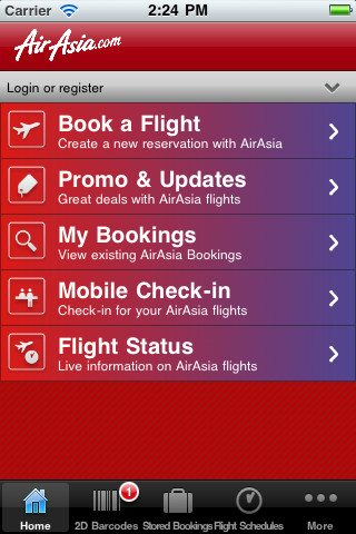 Air Asia App
