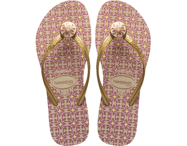 Brazil inspired havaianas 2012 pink