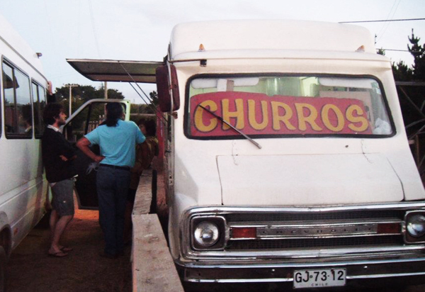 churros in Chile
