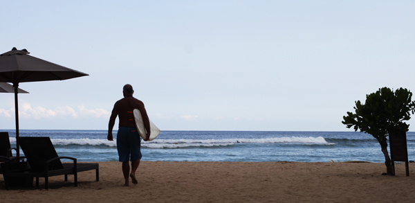 Fitness Vacations - Surf Lessons in Bali