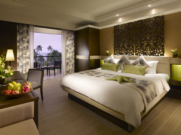 Deluxe Seafacing Room Golden Sands by Shangri-La Penang Malaysia